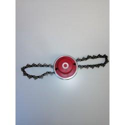 Testina con catena per decespugliatore f.10x1.25